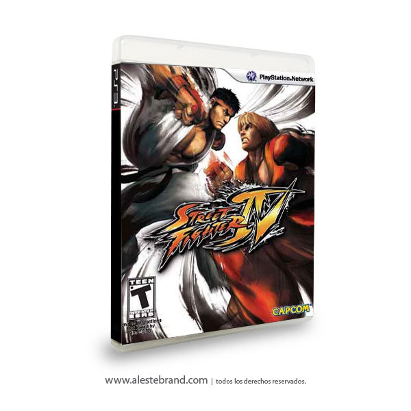 Street Fighter 4 - PS3
