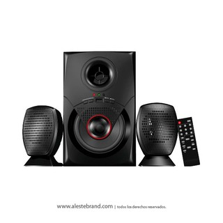 Home Theater 2.1 Stromberg Carlson radio FM USB HTG-077