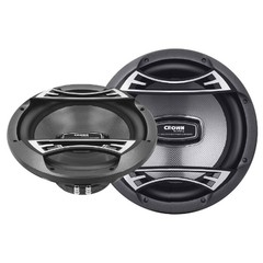 "Subwoofer Crown Mustang 12"" Dual Voice 1200W Out-12"