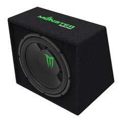 Subwoofer Monster Sound 12 1000w Cajon Ventilado M-124b