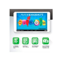 "Tablet AVH  8"" Bluetooth Quad Core Excer.P1 - comprar online"