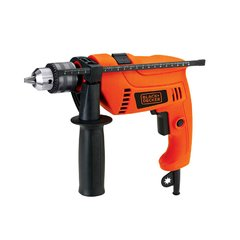 Taladro percutor Black + Decker 550W + Maletin HD555K