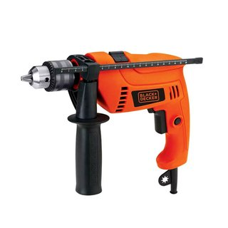 Taladro percutor Black + Decker 650W + Kit HD650K