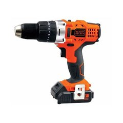 Taladro percutor inalámbrico Black + Decker 14.4V Lithium HP14