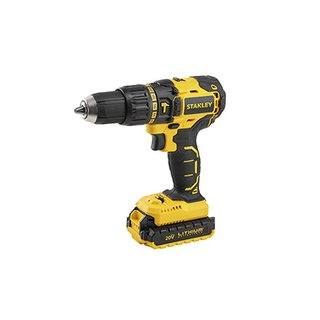 Taladro percutor inalámbrico  Stanley 20V Brushless SBH201S2K