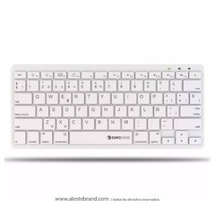Teclado Eurocase Ultra Slim Umber Eukb-340 Usb Mac Pc