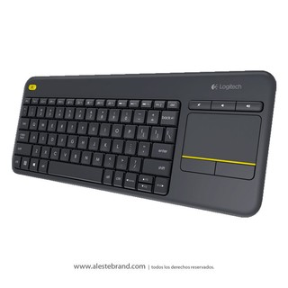 Teclado Inalámbrico Touch Logitech K400 Plus TV