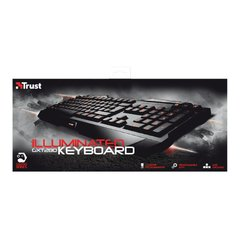 Imagen de Teclado Trust Gaming Led Illuminated GXT 280 PC
