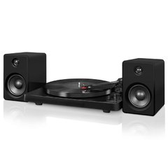 Tocadisco Victrola negro  con parlantes Bluetooth 50W ITUT-420 BLK