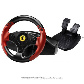 Volante Trustmaster Ferrari Racing Wheel Red Legend Edition PC / Playstation 3
