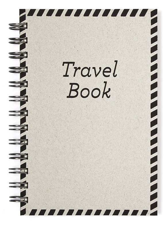 Cuaderno anillado 12x17 cm Travel Book en internet