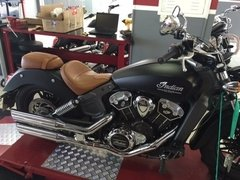 "PONTEIRA INDIAN SCOUT 3"",5  CORTE LATERAL CROMADO na internet"