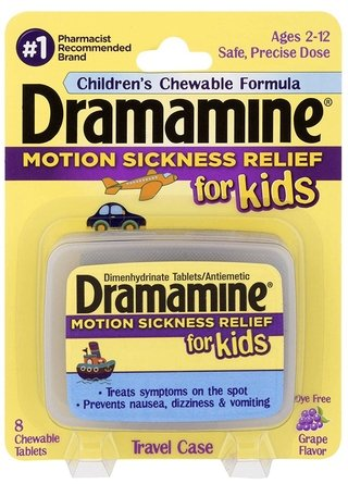 Dramamine Chewable Tablets for Kids