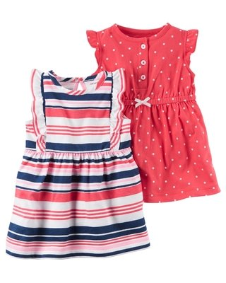 Kit 2 Vestidos Carter's