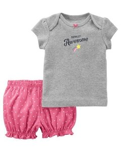 Conjunto Carters Summer Totally Awesome - 126h383 - Tamanho 9 meses - comprar online