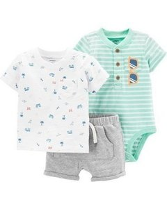 Conjunto Carter's Summer