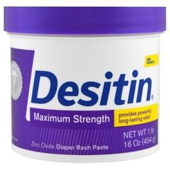 Pomada para Assaduras Desitin Maximum Strength Pote 454g (Roxa)