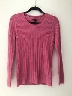 Sweater Tommy Hilfiger Rosa  - TH68 - Tamanho M