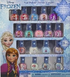 Kit Esmalte Frozen Disney Base Agua