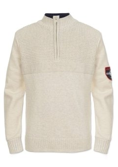 Sweater Pullover Tommy Hilfiger Creme - TH293 - Tamanho 4 anos - comprar online