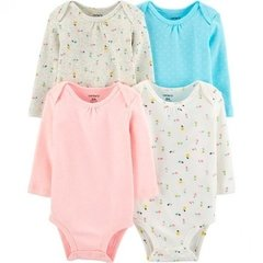 Kit Bodies Carters Manga Longa