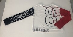 Camiseta Cropped Tommy Hilfiger - TH720 - Tamanho 2 - 3 anos