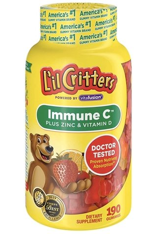Immune C - Plus Zinc & Vitamin D - 190 gummies