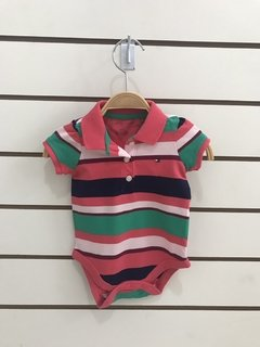 Body Tommy Hilfiger Color  - TH0118 - Tamanho 3 - 6 meses