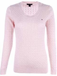 Sweater Tommy Hilfiger Rosa Bebe - TH698 - Tamanho G