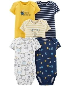 Kit Bodies Carters Manga Curta