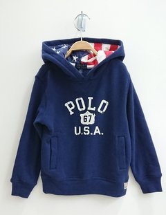 Moletom Ralph Lauren Navy