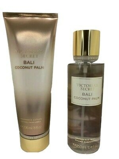 Kit Victoria´s Secret Hidratante e Splash - Bali Coconut Palm