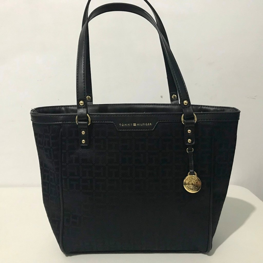 364d4d055 Bolsa de Mão Tommy Hilfiger Shopper Black - TH2675