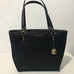 Bolsa de Mão Tommy Hilfiger Shopper Black - TH2675