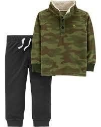 Conjunto Carter's Fleece