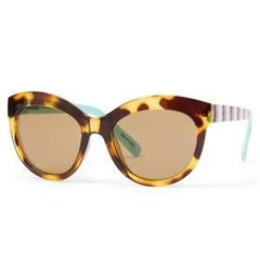 Oculos de Sol Janie and Jack Tortoise Cat-Eye - Idade 4 +