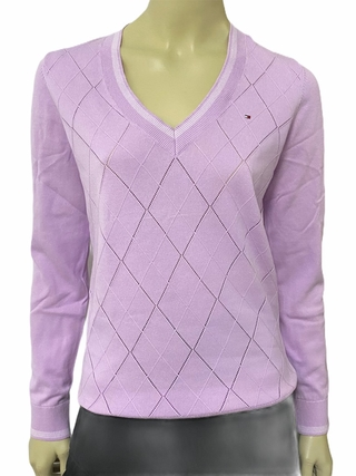 Sweater Tommy Hilfiger Roxo - TH873 - Tamanho M