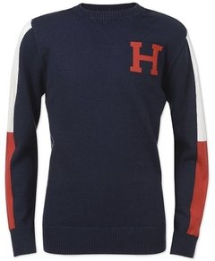 Sweater Tommy Hilfiger signature - TH12 - Tamanho 8 - 10 anos