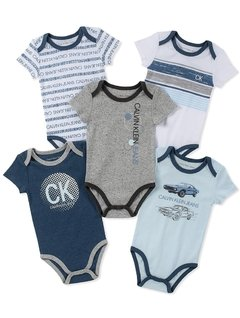 Kit 5 Bodies Calvin Klein