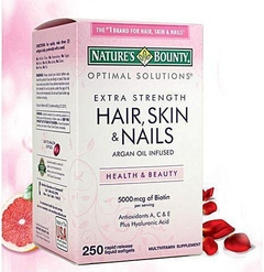 Suplemento Hair, Skin And Nails - 250cps Nature's Bount