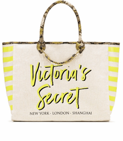 Bolsa Victoria's Secret - Creme/Amarelo - VS235