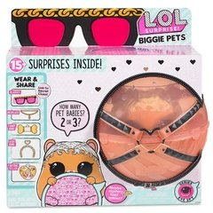Boneca LOL Surprise Biggie PETS - Serie Eye Spy