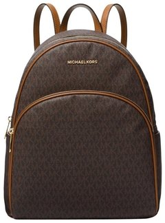 Mochila Michael Kors - Abbey Brown Backpack - 35F8GAYB7C