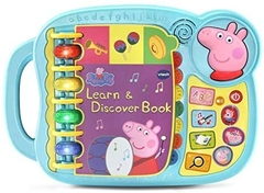VTech Peppa Pig Learn & Discover Book