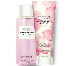 Kit Victoria´s Secret Hidratante e Splash - Pomegranate & Lotus - Balance