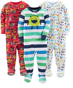 Kit 3 Macacoes Cotton Simple Joys By Carters - Diversos Boys - SJ03A - Tamanho 18 meses