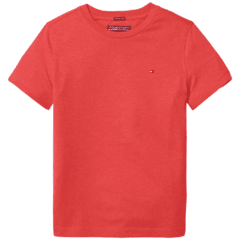 Camiseta Tommy Hilfiger Red - TH92728 - Tamanho 24 meses