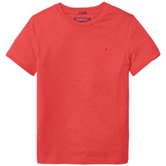 Camiseta Tommy Hilfiger Red - TH92728 - Tamanho 12 meses