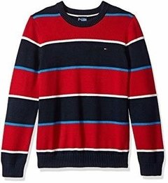 Sweater Tommy Hilfiger Listras Red - TH612 - Tamanho 2 - 3 anos