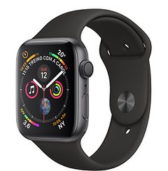 Relogio Apple Watch Serie 4 - 44mm - Preto - comprar online